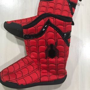 Disney Store Spider-Man Slippers 11/12